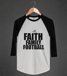 FAITH FAMILY FOOTBALL B TEE