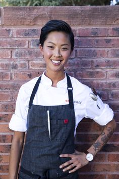 Top Chef Kristen Kish.  Love the arm ink.