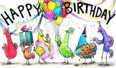 109 Best Happy Birthday Cha Cha Cha Images Birthdays