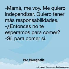 Me quiero independizar. #humor #risa #graciosas #chistosas #divertidas