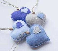 Image result for felt ornament heart #feltornaments