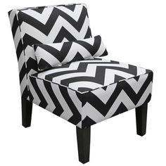 I pinned this Zig Zag Accent Chair from the Southern Hospitality event at Joss and Main!