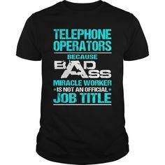 TELEPHONE OPERATORS T-Shirts, Hoodies. VIEW DETAIL ==► https://www.sunfrog.com/LifeStyle/TELEPHONE-OPERATORS-116551787-Black-Guys.html?id=41382