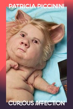 'He's so cute and lovely with his beautiful golden hair . . . he's a wonder of nature' — Patricia Piccinini. #FeelitatGOMA