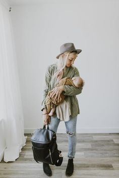 fc316a1dfb53 La Mère - Black with Gunmetal. Love You BabyMom And BabyFuture  ThinkingNappy BagsDiaper Bag BackpackMommy ...