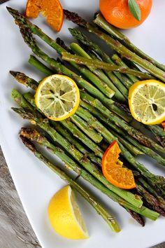 Citrus Roasted Asparagus #recipe