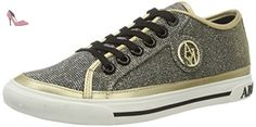Armani Jeans  9252267p615, Sneakers Basses femme - or - Gold (oro), 39 - Chaussures emporio armani (*Partner-Link)