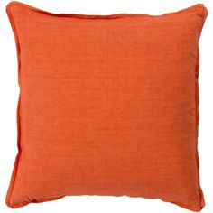 Found it at AllModern - Orson Solid 100% Linen Throw Pillow Cover