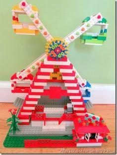 Lego activities with standard bricks
