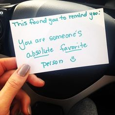 Maybe someone left you a kind note on a day you were feeling down. Kindness Notes, Small Acts Of Kindness, Kindness Matters, Notes For Friends, Birthday Cards For Friends, Creative Gifts For Boyfriend, Cute Boyfriend Gifts, Cute Notes, Sweet Notes