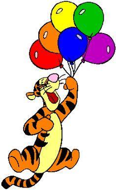 Résultats de recherche d'images pour «tigger and balloon coloring pages»