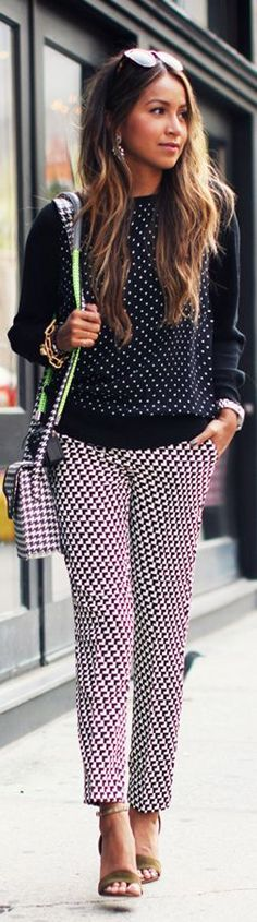 Mix Up. by Sincerely Jules I really like the mixing of prints...very subtle.