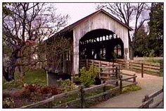 Antelope Creek Bridge -- Jackson County, Oregon