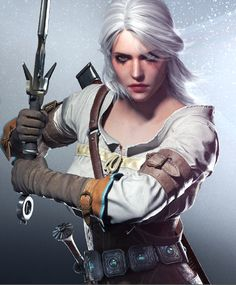 Ciri cosplay from Witcher 3 - Wild Hunt by darayacrafts on Etsy https://www.etsy.com/listing/234563707/ciri-cosplay-from-witcher-3-wild-hunt