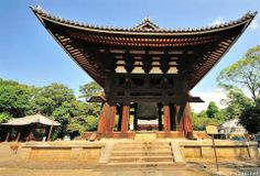 Japanese Bell Tower Todai-ji Temple, Nara www.muza-chan.net