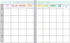 editable lesson plan template.