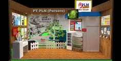 Desain Booth Stand Pameran Intergrity Expo 2014