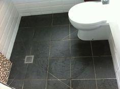 Wetroom Design & Fitting in London - Marmalade Badger Ltd Floor tiles!