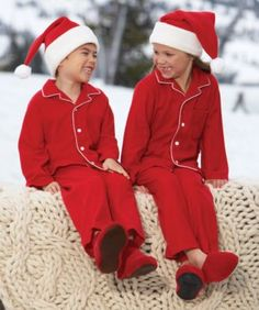 kids personalized cozy red pj s - Only at Chasing Fireflies - Your child  can curl up in snuggly 860713b9e