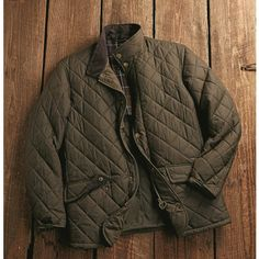 Buzzard Quilted Jacket