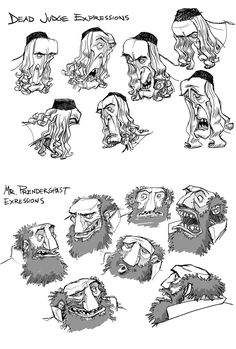 wonderfull to see 2d Character Animation, Animation Storyboard, Android Jones, Anna Cattish, Wall E, Frank Frazetta, Caricature, Laika Studios, Comic Face