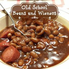 Old School Beans and Wieners recipe | Plucky's Second Thought