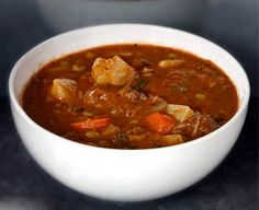 The perfect hearty African Stew - especially when the weather turns chilly!