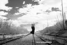 railroad ballerina   Photo: Elisa - Oberwiesenfeld Don't worry, this rail track is not in ...