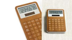 Safe Bamboo Calculator By Lexon