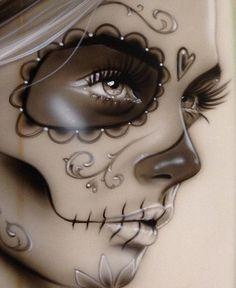 'dia De Los Muertos II' by Christian Chapman Art