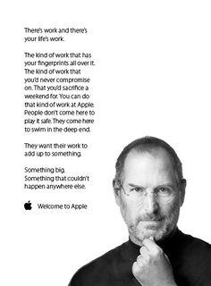 "Apple - ""Welcome"" Manifesto"