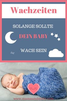 The right waking time - How to avoid fatigue and make it easier for your baby to fall asleep - Sleeping advice on slumbering - The Optimal Waking Time – How Long Should Your Baby Be Awake Between Two Sleeping Periods Mom and - Kids Sleep, Baby Sleep, Baby Co, Baby Kids, Baby Baby, Breastfeeding Techniques, Baby Giveaways, Baby Feeding Schedule, Bulletins