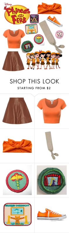 """Isabella and the Girl Scouts"" by bella-platz ❤ liked on Polyvore featuring Michael Kors and Converse"