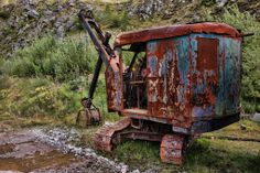 Ian Britton Vintage Excavator