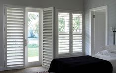 Window security shutters are the small rectangular windows placed directly above the larger windows and doors. They are also often used in basements and basements. You can hang the blinds on the transom windows as you do any other window Transom Windows, Blinds For Windows, Windows And Doors, Security Shutters, Window Security, American Shutters, Brick Molding, Window Casing, Wood Shutters