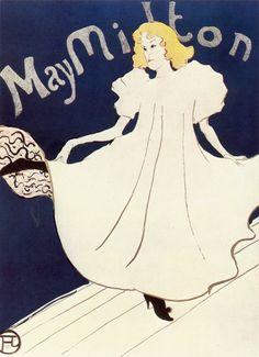 """May Milton (?-?) era una bailarina y cantante inglesa llegada a París en compañía de su ballet, actuando más tarde en solitario en la """"Rue Fontaine"""". She was LGBT lesbi lover of May Belfort."""