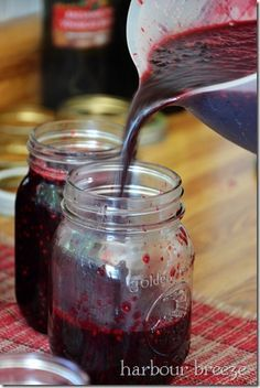 Old Fashion Blackberry Jam- My mom used to make this all the time. This and huckleberry were my favorites :-)