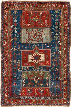 Kazak Antique Oriental Rug C54S0762