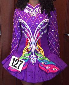 *Irish Dance Solo Dress Costume*