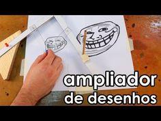 Ampliador de desenhos (pantógrafo) - YouTube