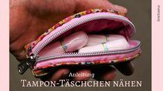 Schluss mit Tampons, die in deiner Handtasche herumfliegen: Wir zeigen dir, wie man ruckzuck ein zauberhaftes Tampon-Täschchen nähen kann!