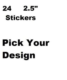 """24 PERSONALIZED 2.5"""" Round Birthday Party Goodie Loot Bag Stickers Labels"""