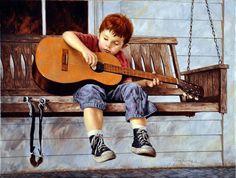 "Jim Daly artist - ""Budding Star"""