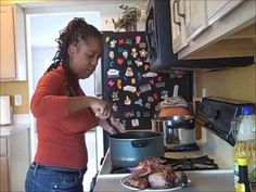 The Ghetto Cooking Show™ 2012 Episode 2 Neckbones  She is also giving some great advice.