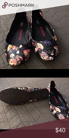 Garbage pail kids flats Super fun wore once see photo of heels Iron Fist Shoes Flats & Loafers