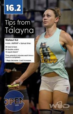 2016 CrossFit Open Strategy and Tips for 16.1 with Talayna