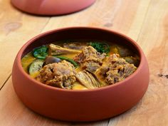 Kare-Kare, Filipino Oxtail stew. The key ingredient that brings everything together? Peanut butter.