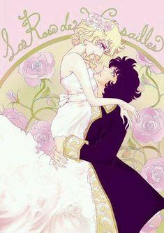 Роза Версаля ♥Versailles no Bara♥'s photos Manga Art, Manga Anime, Lady Oscar, Anime Love Couple, Manga Illustration, Pretty Art, Anime Couples, Sailor Moon, Shoujo
