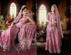 Beautiful Pink Wedding Dresses | Bridal Designs | Pakistani Wedding Dress: Lehnga Bridal Designs | Pink ...