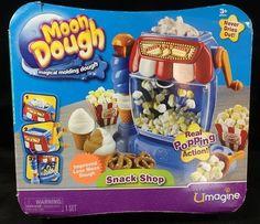Umagine Moon Dough Snack Shop Popcorn & Pretzel Molding Dough Never Dries…